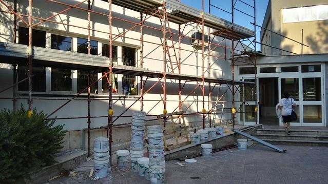 Scuola Aldo Moro rutigliano lavori senza protezioni (4)