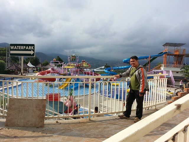 At Waterpark