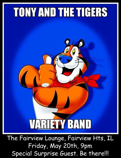 Tony And The Tigers 5-20-16