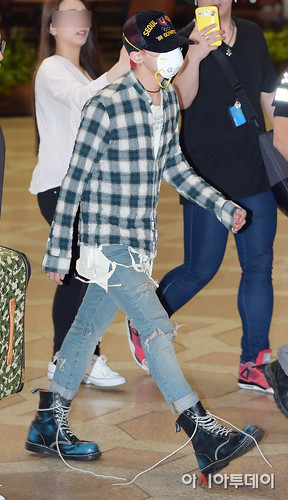 BIGBANG Gimpo Airport to Beijing PRESS 2015-06-05 011