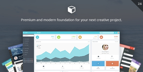 AppUI v2.7 - Web App Bootstrap Admin Template