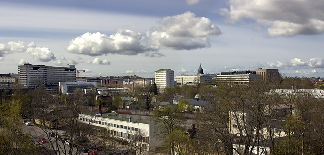 View over Turku