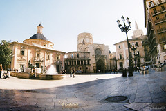 Plaza de la Virgen. Valencia. Spain