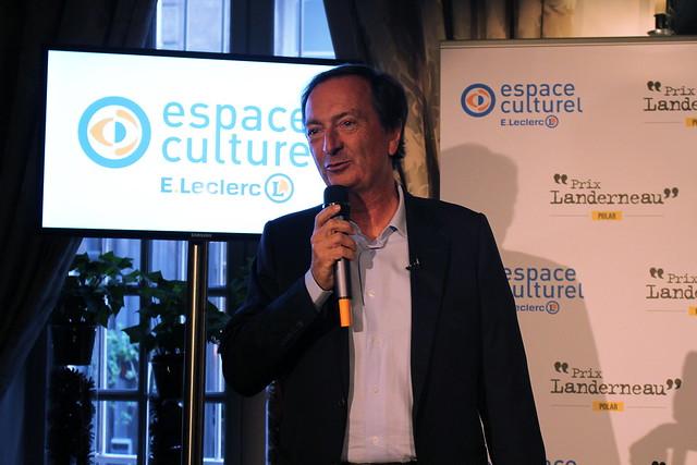 Michel-Édouard Leclerc - Prix Landerneau Polar 2015, remis à Fred Vargas