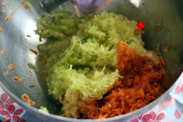 【寶寶煮】蔬菜滿滿營養滿份~ 寶寶瑪芬 Veggie Muffins 7