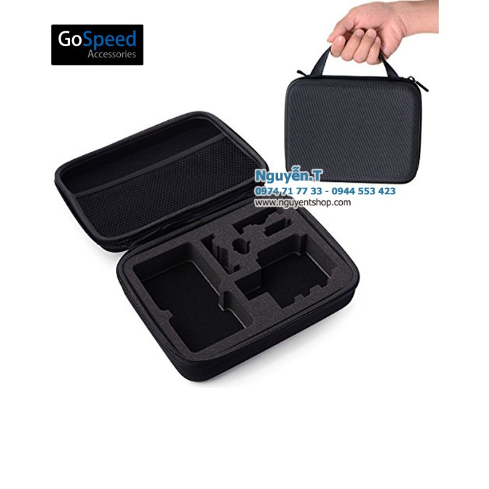 Case - Hộp Chống Sốc Gopro GoSpeed Size M