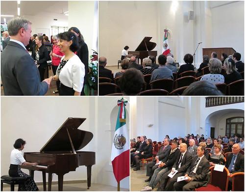 Concierto de la pianista mexicana Leticia Gómez-Tagle