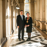Guangzhou Vice Mayor Mr Wang Dong and City of Sydney Lord Mayor Clover Moore