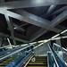Escalator in a Metro Station