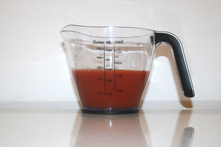 12 - Zutat Tomatensaft / Ingredient tomato juice