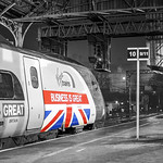 Buisness is Great Union Jack Flag  Pendolino at Preston 23.11.2015.jpg