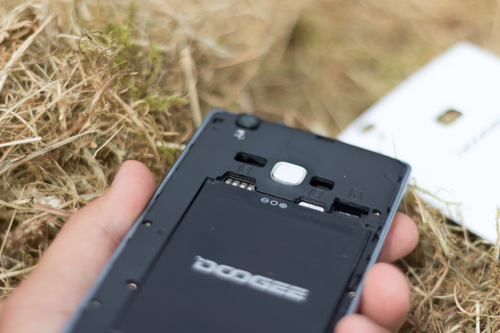 Doogee X5 Max rear open