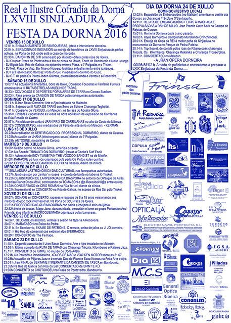 cartel actividades 2016