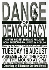 Dance for Democracy, August 1992