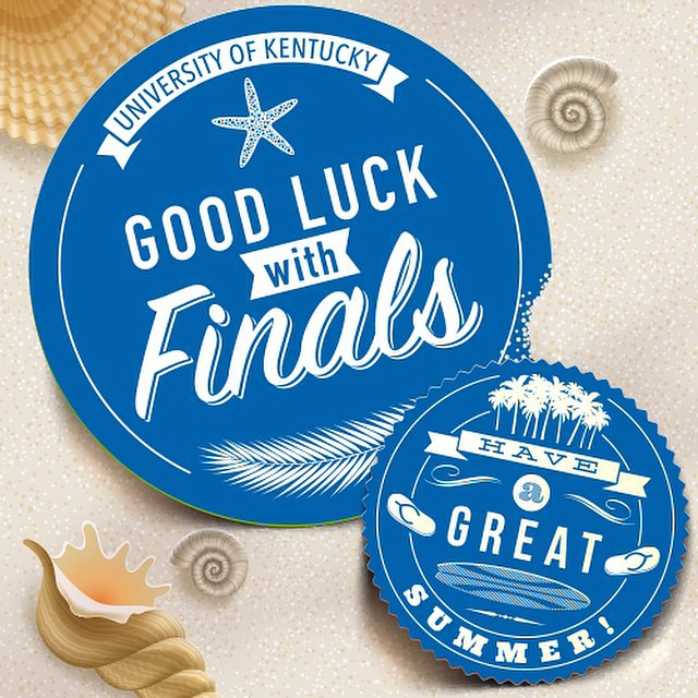 Good luck with finals, Wildcats!
