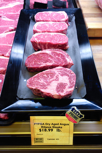 Beef with the USDA Prime shield