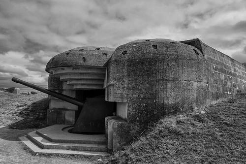 Batterie de Longues, Atlantic Wall, Longues-sur-mer, Normandy
