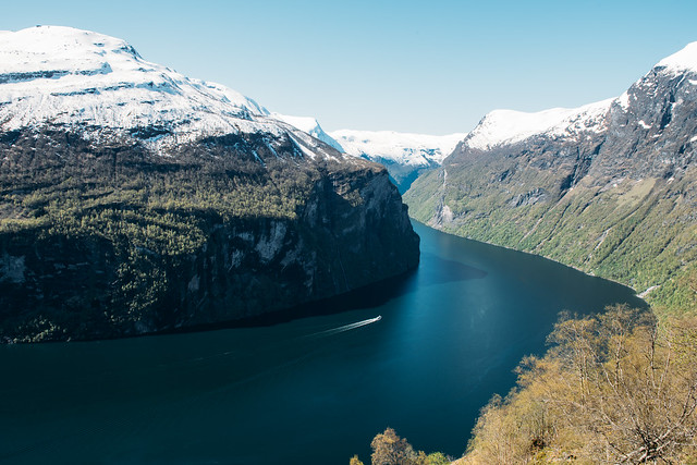 Road trip from Oslo to Ålesund, Norway