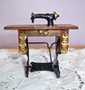 Vintage Miniature Chadwick-Miller Doll House Sewing Machine