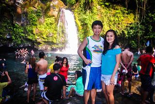 Majayjay Falls Janna and Nikko