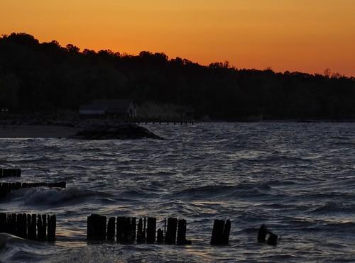 statepark sunset landscape spring