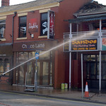 Another fire at Sandos in Preston - 11