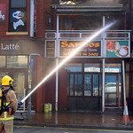 More pictures of the fire at Sandos, Preston - 4