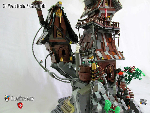 Sir Wizard Mecha-Nic Stronghold 06