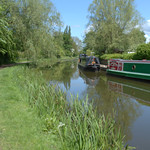 Down the canal at Ashton, Preston
