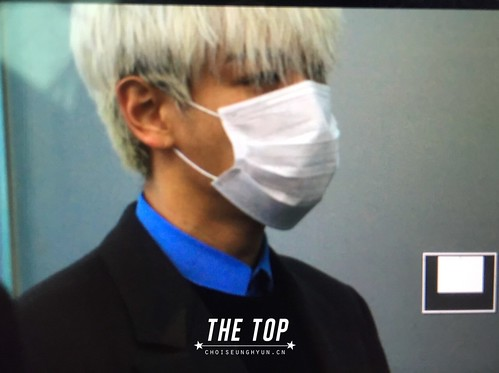 G-Dragon & TOP - Incheon Airport - 30jan2015 - TOP - The TOP - 07