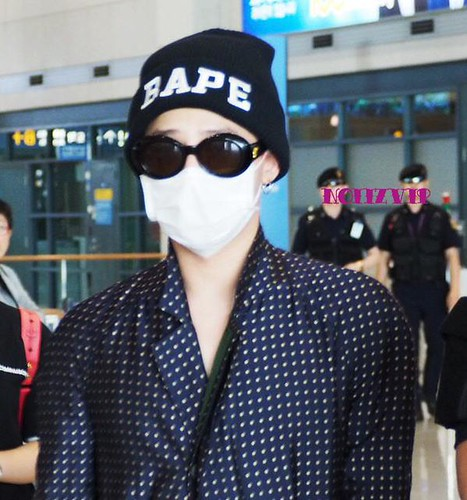 G-Dragon Arrival Seoul from Paris 2015-07-09 024