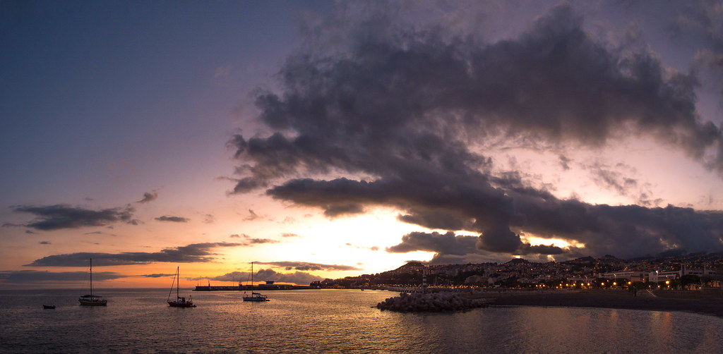 Sunset in Funchal - Madeira