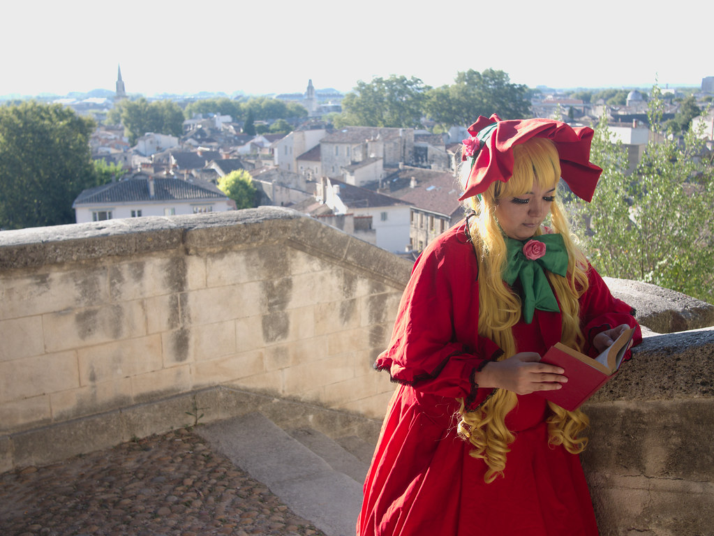 related image - Shooting Shinku - Rozen Maiden - Jardin des Doms - Avignon -2016-08-15- P1520212