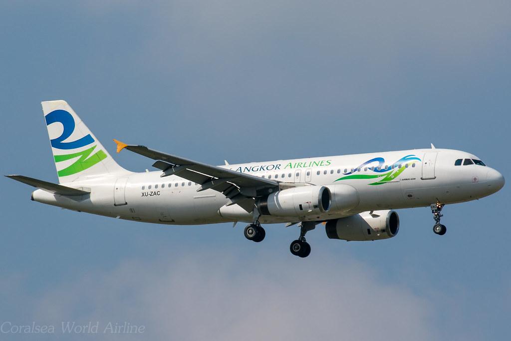 Sky Angkor Airlines / A320-231 / XU-ZAC / NRT