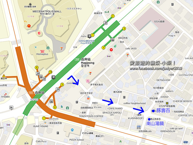 合井地圖 -2