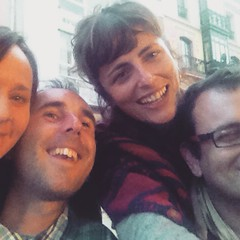 Weve arrived in Barcelona, following an epic 3 nights in Asturias with these lovely people