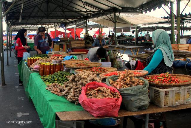 Kota Kinabalu Market Malaysia