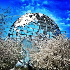 Unisphere In The Clouds