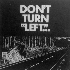 BC, Social Credit ad 1972, dont turn left