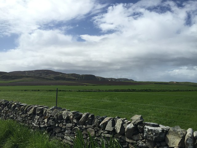 The view from Kilchoman Distillery