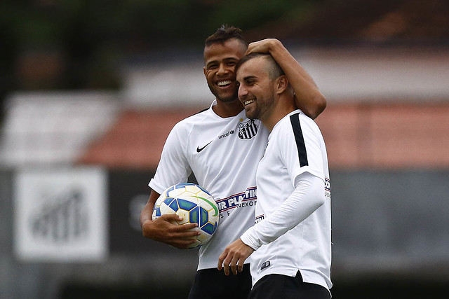 Geuvânio e Rafael Longuine