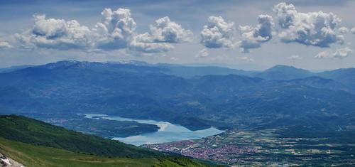 sky mountain lake mountains clouds landscape nikon outdoor hiking hill explore macedonia jablanica drim debar d5100 deshat nikond5100