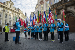 2015 Volkswagen Prague Marathon - volunteers