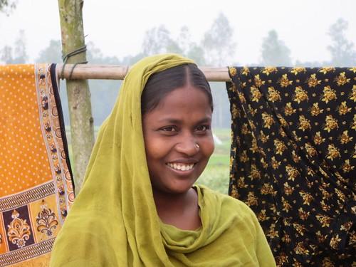 woman dhaka bangladesh bogra hatikumrul
