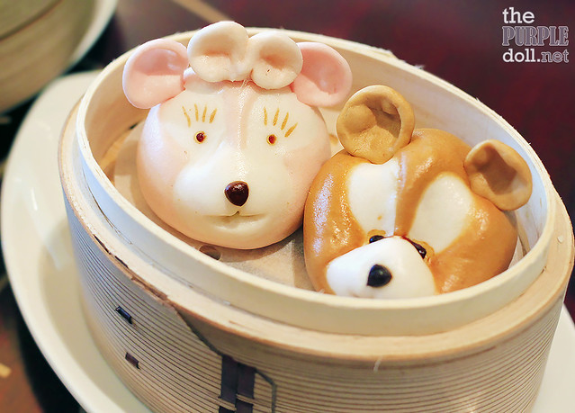 """Duffy and ShellieMay"" Steamed Sweet Bun (HKD 78)"