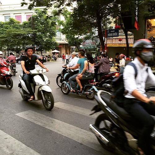 帰宅ラッシュ #ハノイ #ベトナム