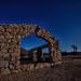 Full Moon Chapel Ruins by Maureen Bond