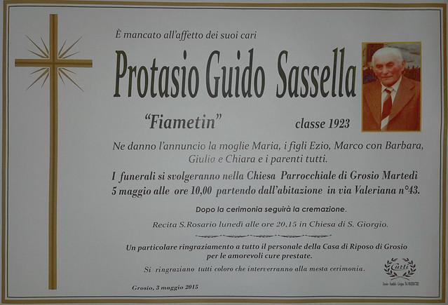 Sassella Protasio Guido