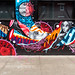 How & Nosm with Tristan Eaton brooklyn NYC by ZUCCONY