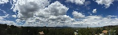 Cloudy panoramic